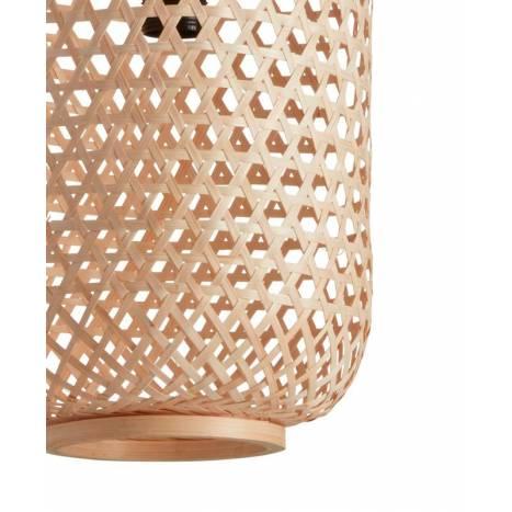 MDC India E27 natural bamboo pendant lamp detail