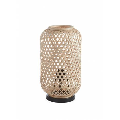 MDC India E27 natural bamboo table lamp