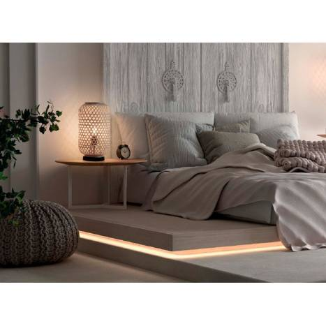 MDC India E27 natural bamboo table lamp ambient