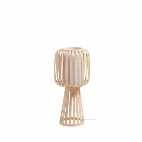 MDC Cintia E27 60cm natural bamboo floor lamp