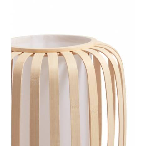MDC Cintia E27 60cm natural bamboo floor lamp detail