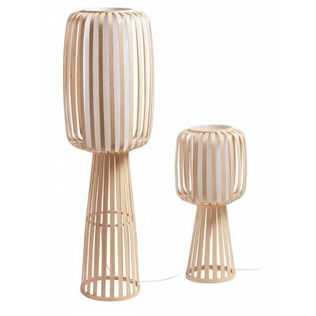 MDC Cintia E27 natural bamboo floor lamp models