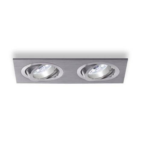 ROILUX A308 2 lights recessed light aluminium