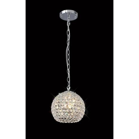 Mantra Crystal pendant lamp 3L G9