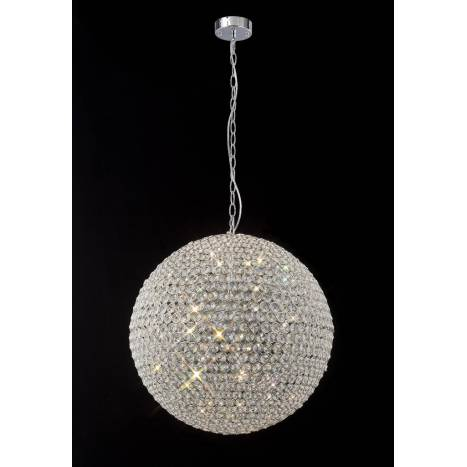 Lampara colgante Crystal 7 luces de Mantra