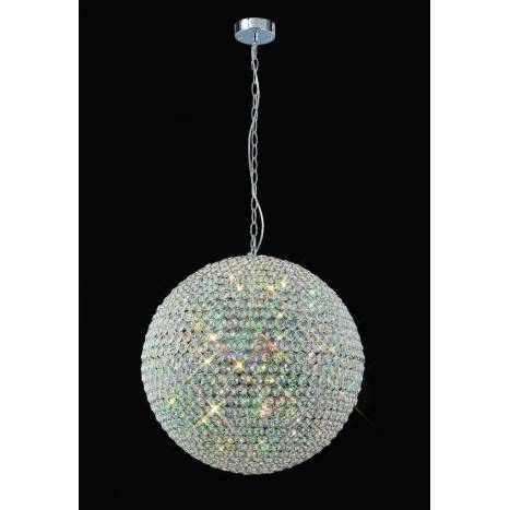 Lampara colgante Crystal 9 luces de Mantra