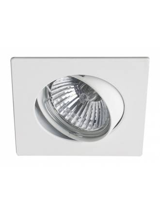 MASLIGHTING 225 square recessed light white