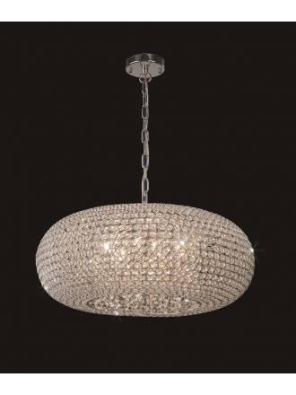Lámpara colgante Crystal 9...