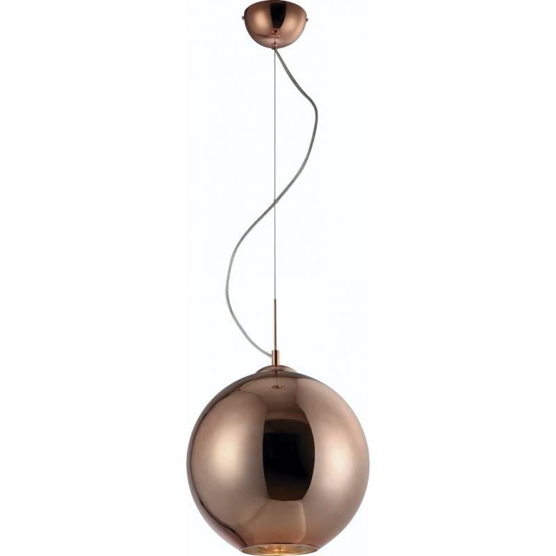 Mantra Crystal pendant lamp Ball medium glass