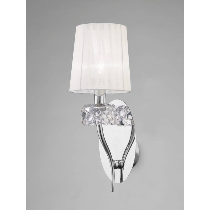 Mantra Loewe wall lamp 1L chrome