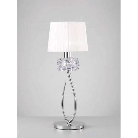 Mantra Loewe table lamp 65cm chrome