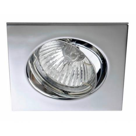 MASLIGHTING 225 square recessed light chrome