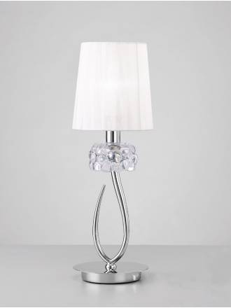 Mantra Loewe table lamp 1L chrome