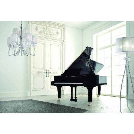 Mantra Loewe floor lamp 3L E27 chrome
