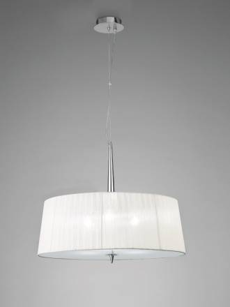 Mantra Loewe pendant lamp 3L E14 chrome