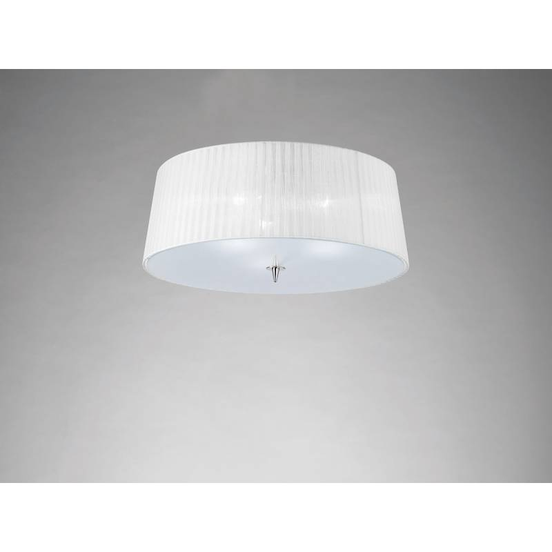Mantra Loewe ceiling lamp 3L E14 chrome