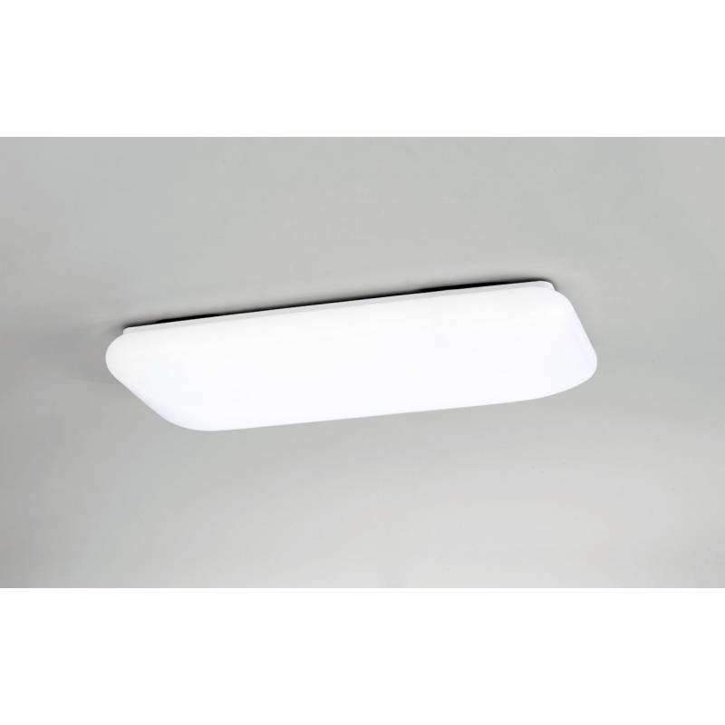 Plaf n de techo rectangle led 25w mantra for Plafon led cocina rectangular