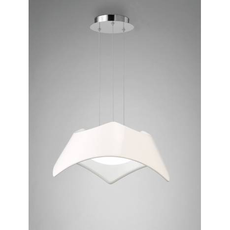 Lampara colgante Maui LED blanco de Mantra