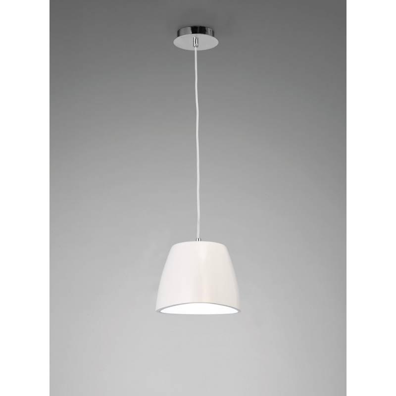 Mantra Triangle pendant lamp 22cm white