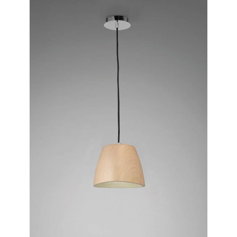 Mantra Triangle pendant lamp 22cm wood
