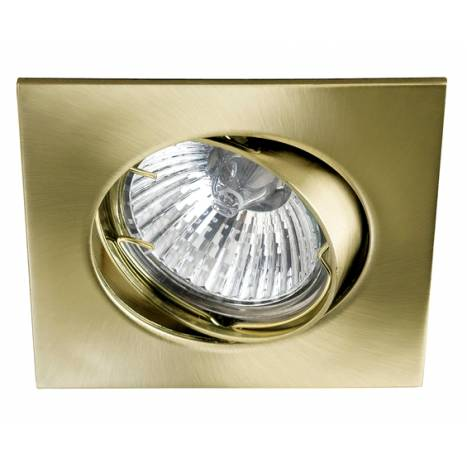 MASLIGHTING 225 square recessed light bronze