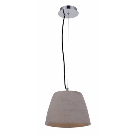 Mantra Triangle pendant lamp 22cm cement