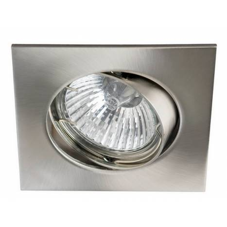 MASLIGHTING 225 square recessed light inox