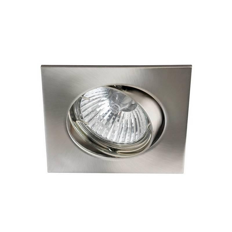 MASLIGHTING 225 square recessed light inox