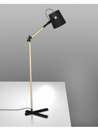 Mantra Nordica floor lamp black shade