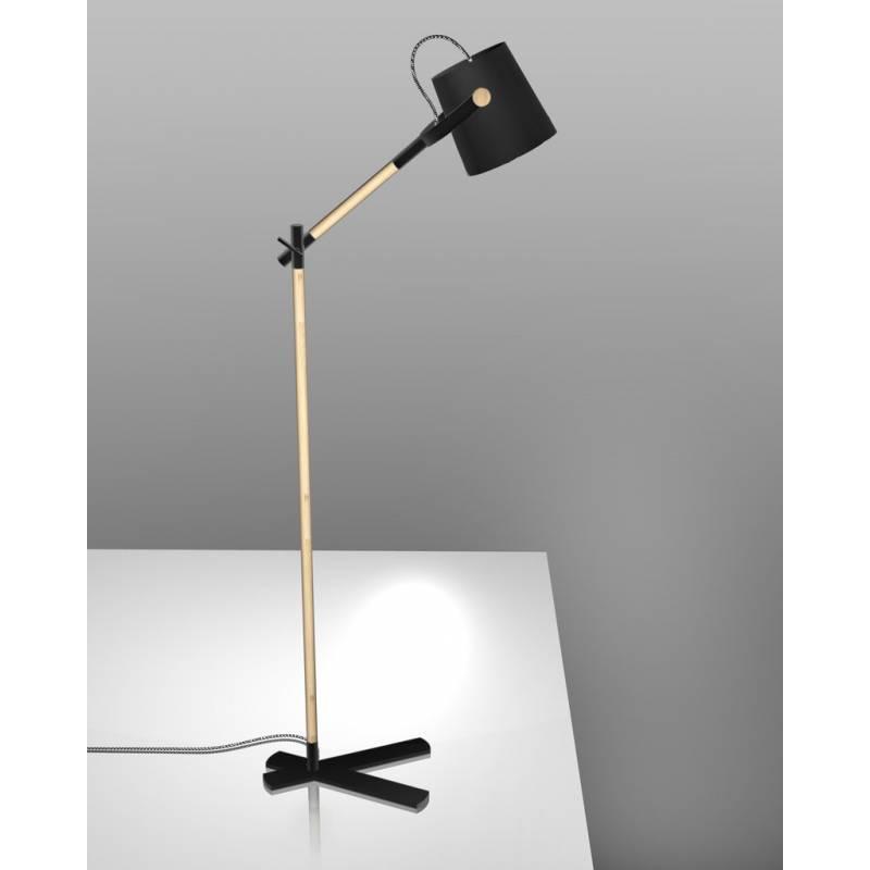 Mantra Nordica floor lamp black shade