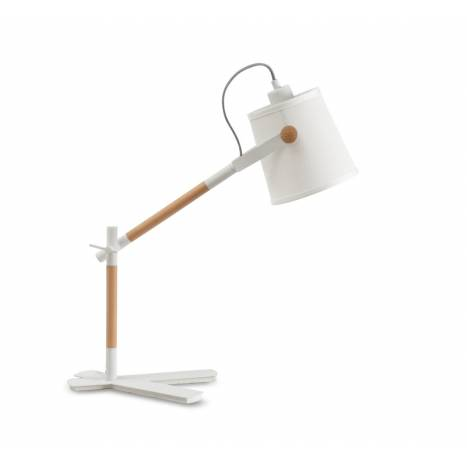 Mantra Nordica table lamp white shade