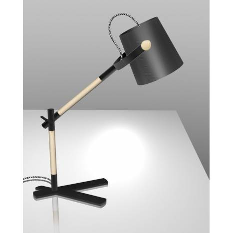 Mantra Nordica table lamp black shade