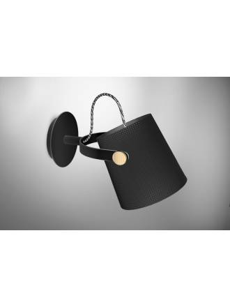 Mantra Nordica wall lamp black shade