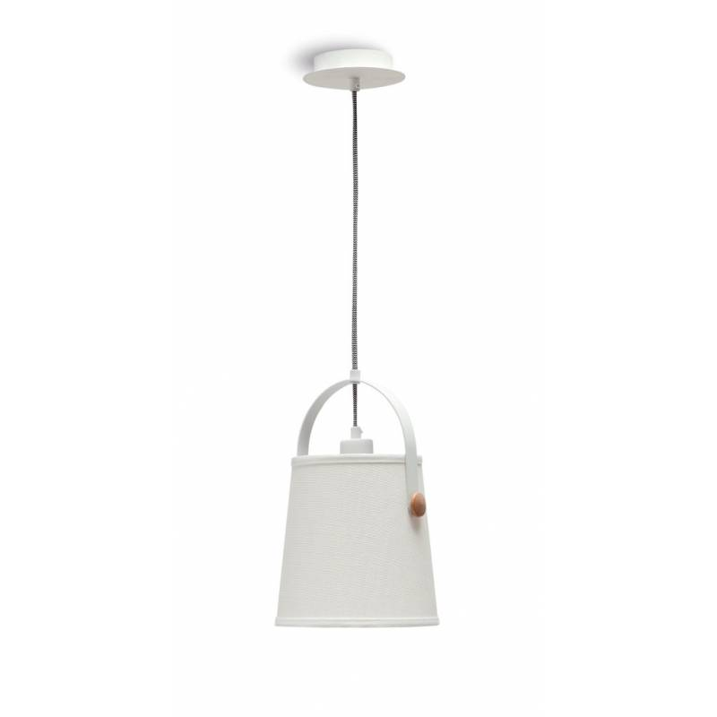 Mantra Nordica pendant lamp 20cm white shade