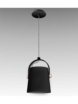 Mantra Nordica pendant lamp 20cm black shade