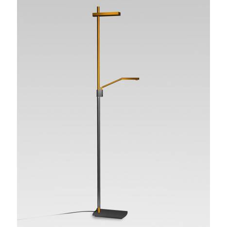 Mantra Phuket floor lamp LED anthracite and copper