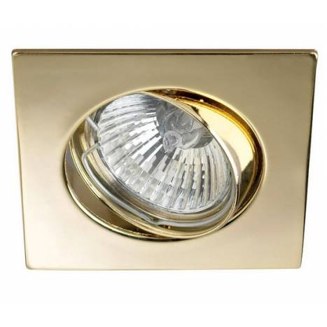 MASLIGHTING 225 square recessed light gold