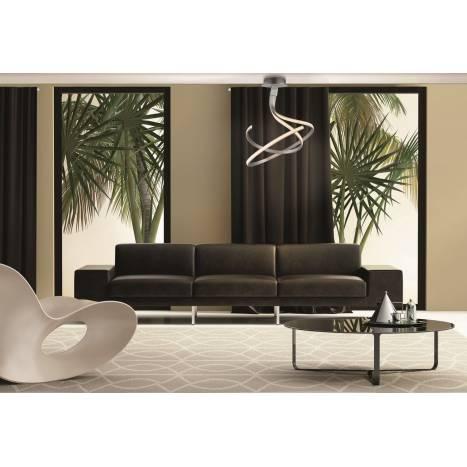 Mantra Nur ceiling lamp LED 50w aluminium