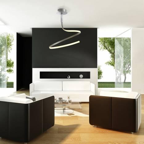 Mantra Nur ceiling lamp LED 30w aluminium