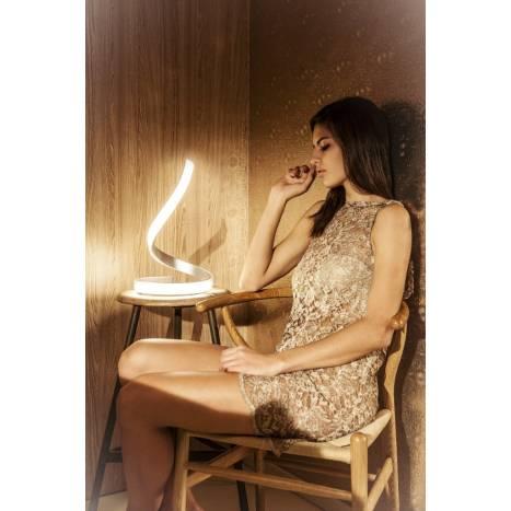 Mantra Nur table lamp LED 15w aluminium