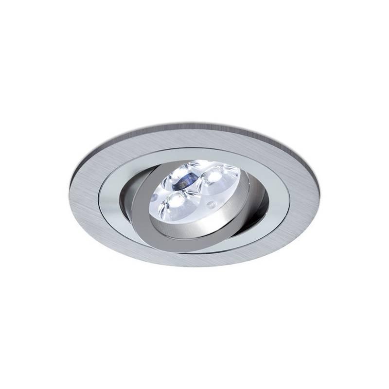 Foco empotrable led 8w circular aluminio beneito faure - Foco led empotrable ...