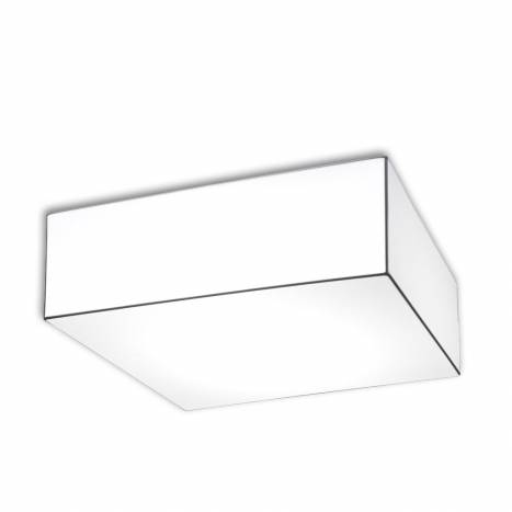 OLE by FM Block ceiling lamp 80x80 white fabric