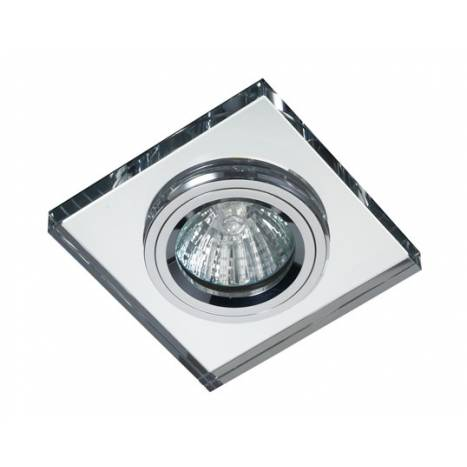 CRISTALRECORD Luxor square recessed light mirror glass