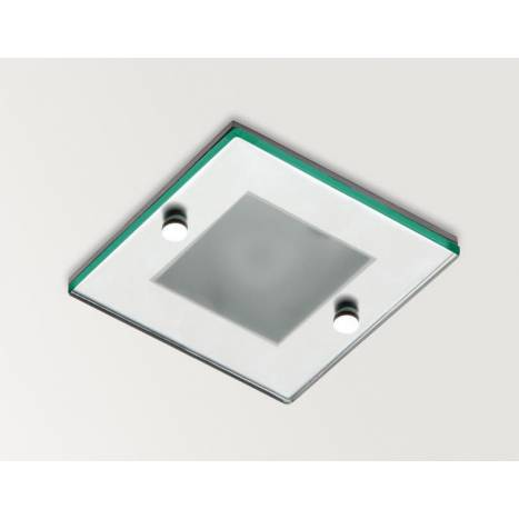 ARKOSLIGHT Win IP44 recessed light optic glass