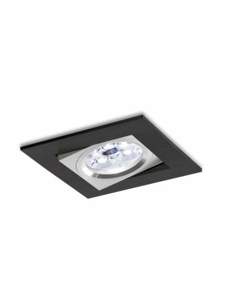 BPM 3002 square recessed light LED 6w black