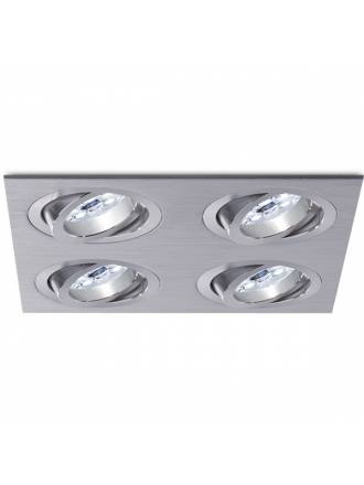 BPM Mini Katli recessed 4 light aluminium