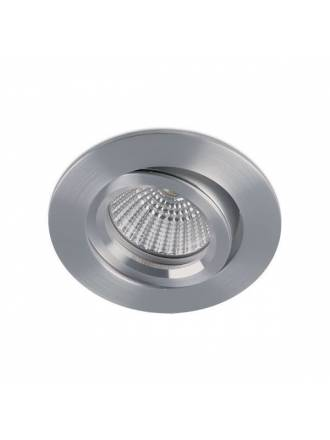 BPM Halka round recessed light aluminium