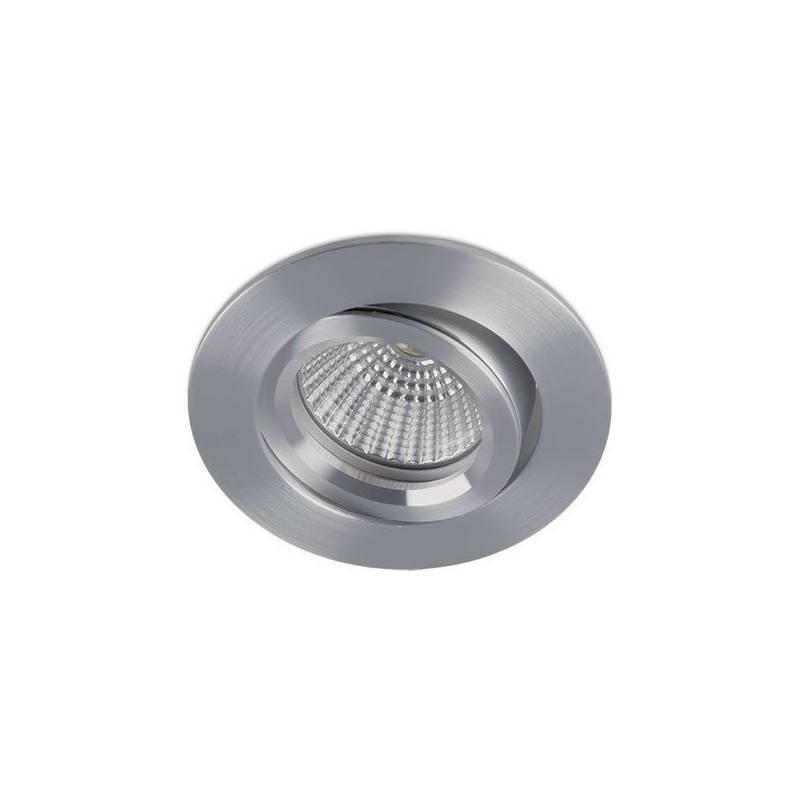 BPM Halka round recessed light aluminium