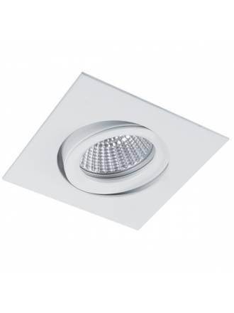BPM Halka square recessed light white