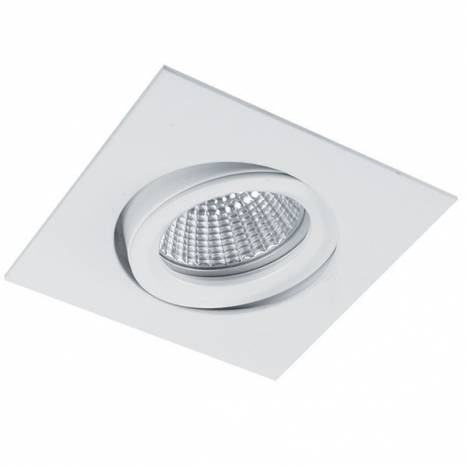 BPM Halka square recessed light white
